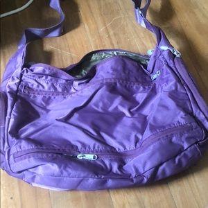 eBags Small Duffel/Crossbody Laptop Bag
